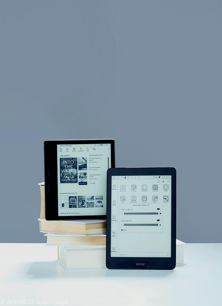 Kindle Oasis 2 i Onyx Boox Nova