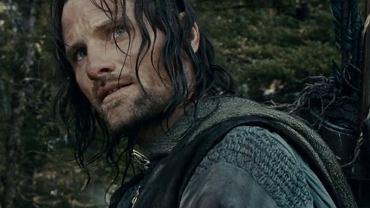 """Filmowy Aragorn z """"Władcy pierścieni: Drużyny pierścienia"""""""