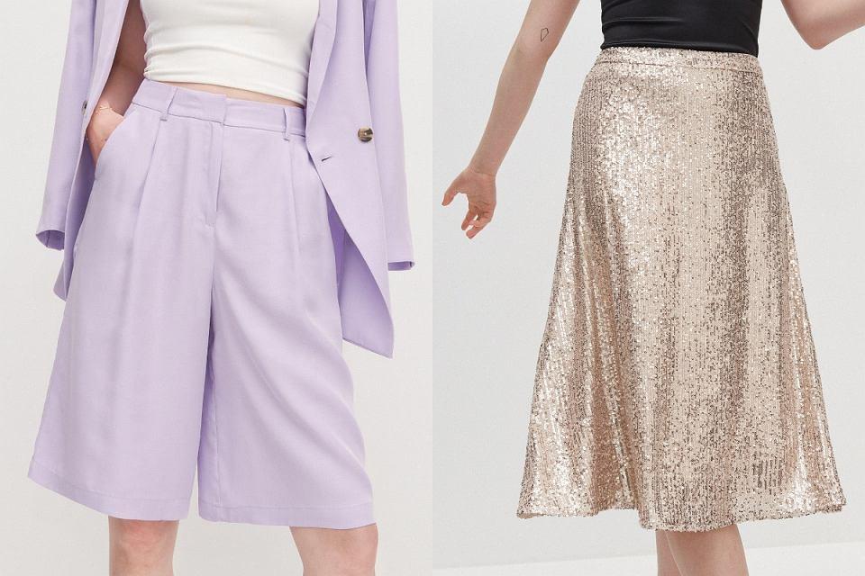 spodnie, spódnice