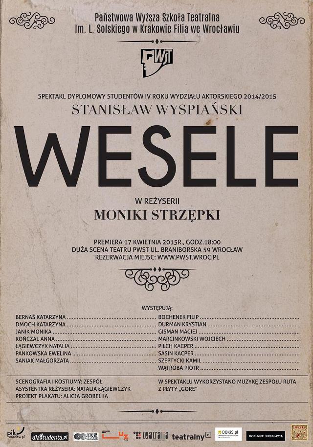 Studenci Wystawią Wesele Reżyseruje Monika Strzępka