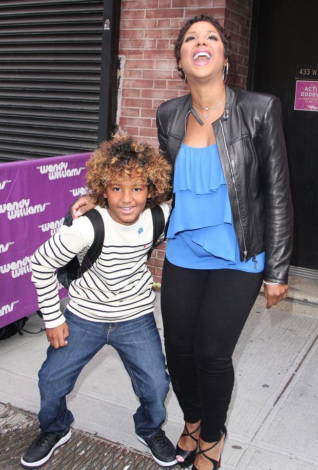Toni Braxton i jej syn Denim Cole