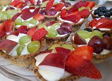 Babeczki z owocami - ugotuj