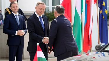 Andrzej Duda i Victor Orban