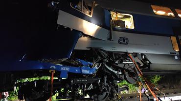 Katastrofa kolejowa w Czechach