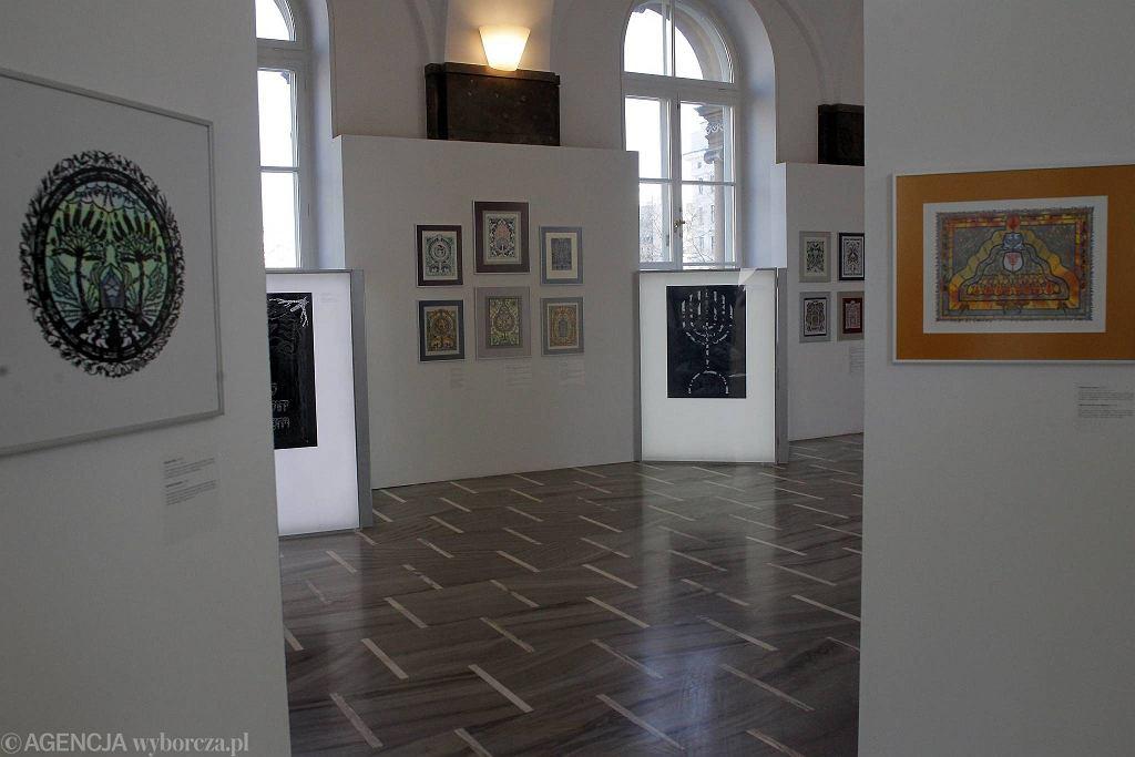 Muzeum Etnograficzne . Wystawa wycinanki zydowskie / PRZEMEK WIERZCHOWSKI