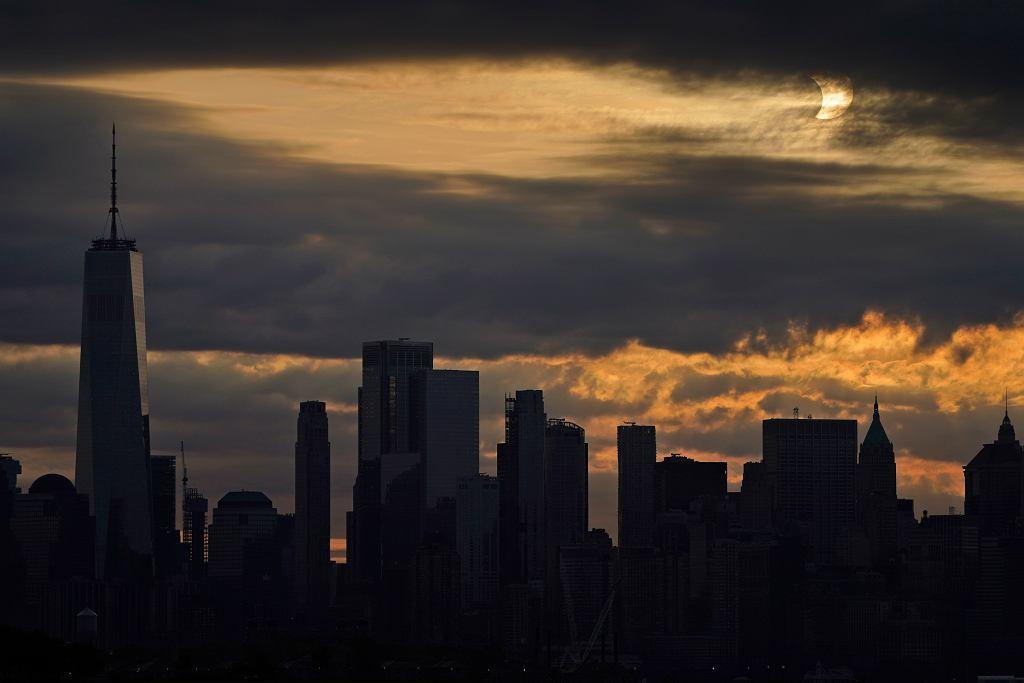 Zaćmienie w Nowym Jorku