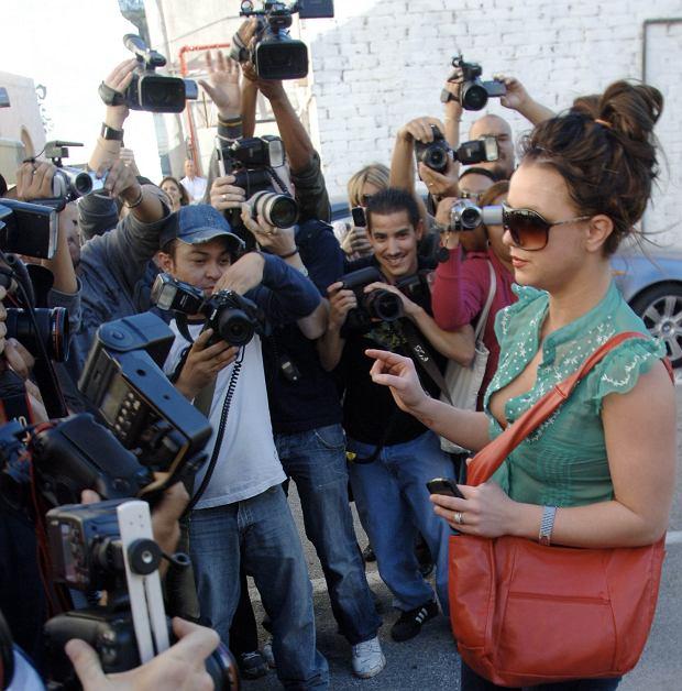 Britney Spears w 2008 roku