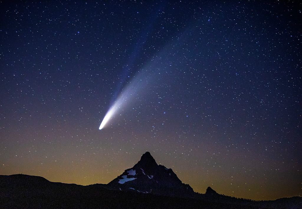 Kometa Neowise - Oregon