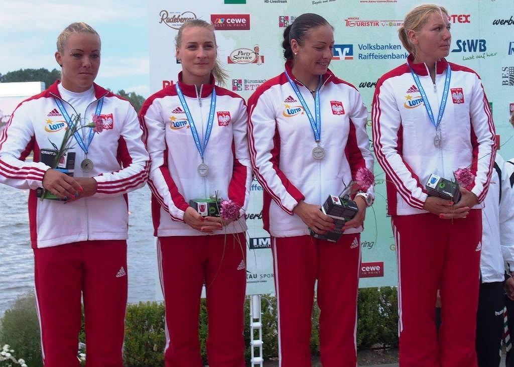 Polskie kajakarki ze srebrnym medalem mistrzostw Europy