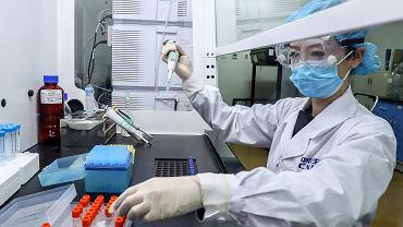 Laboratorium w Pekinie