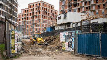 Budowa nowych bloków przy ulicy Wrocławskiej