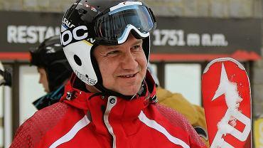Andrzej Duda lubi jeździć na nartach