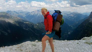 Dorota Szparaga wybrała się  na samotną wędrówkę Głównym Szlakiem Beskidzkim. Przeszła go dwukrotnie - w jedną i drugą stronę. Zajęło jej to 25 dni i osiem godzin