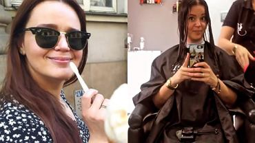"""Agnieszka Łyczakowska ze """"Ślubu od pierwszego wejrzenia"""" zmieniła kolor i długość włosów. Nową fryzurę sprawiła jej Iza!"""