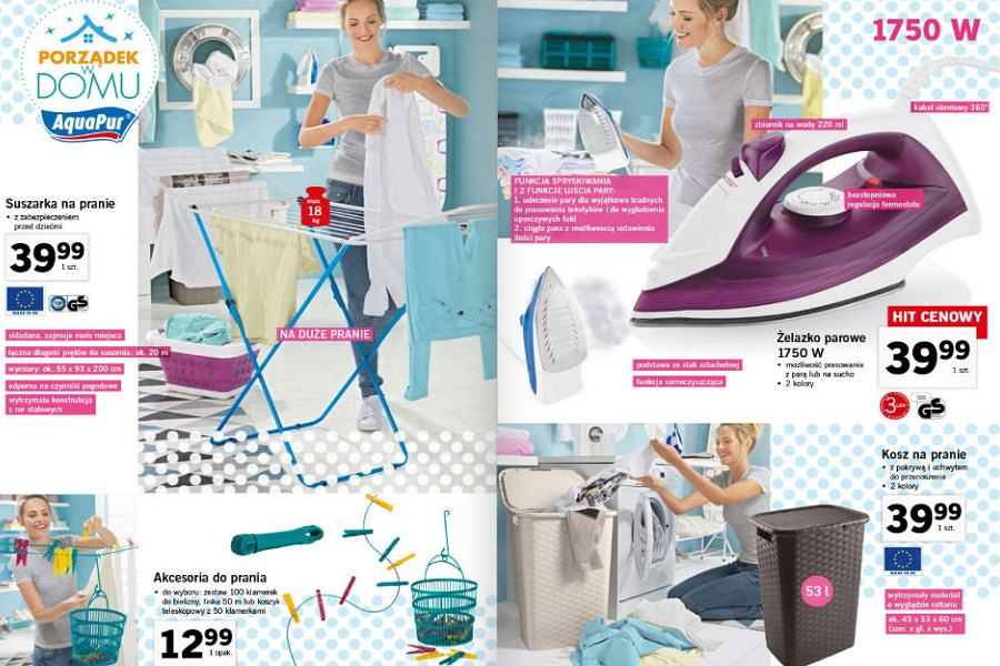 Suszarki i akcesoria do prania
