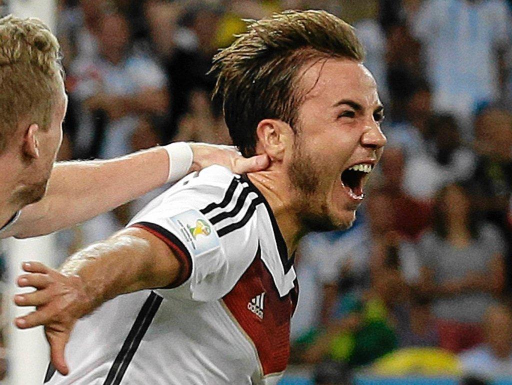 Rezerwowy Mario Goetze dał Niemcom zwycięstwo