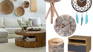 Drewniane meble i dodatki do mieszkania
