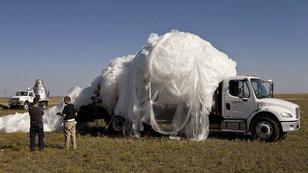 Pakowanie powłoki balonu