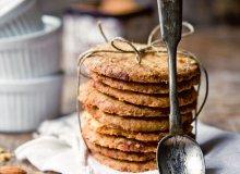 Kruche ciastka z marcepanem - ugotuj