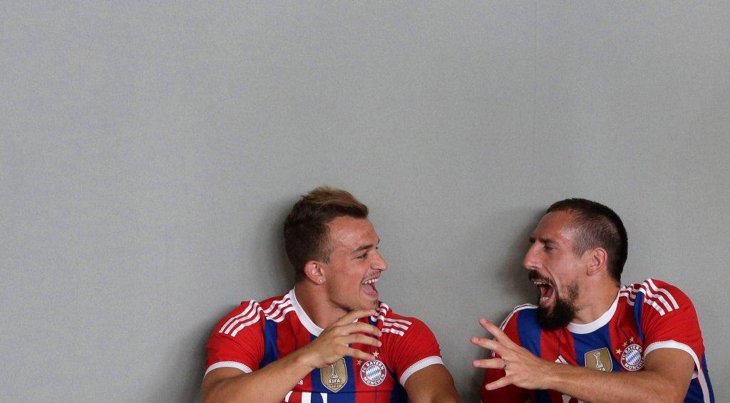 Xherdan Shaqiri i Franck Ribery