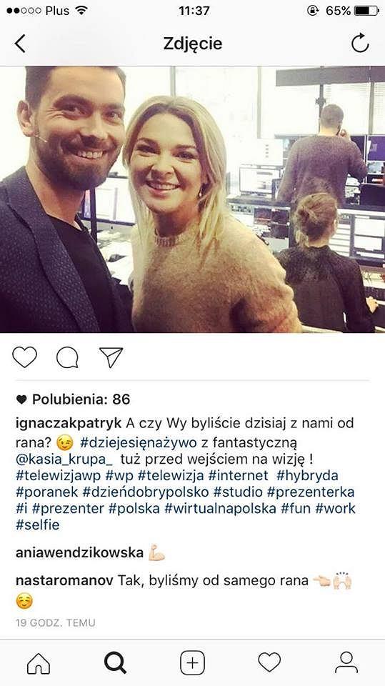Patryk Ignaczak, Katarzyna Krupa