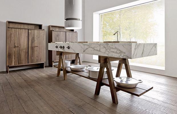Drewno w kuchni