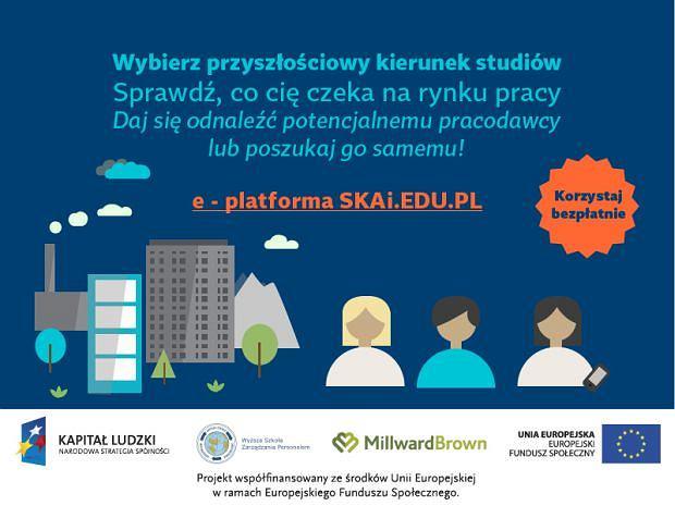 Internetowa platforma SKAi ma szansę pomóc uczelniom dopasować ofertę edukacyjną do rynku pracy.