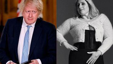 Boris Johnson z córką