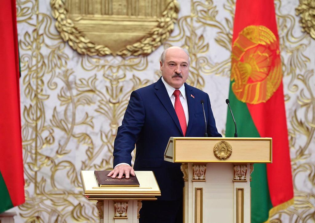 APTOPIX Belarus Lukashenko Inauguration