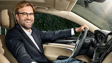 Jurgen Klopp i Opel Insignia