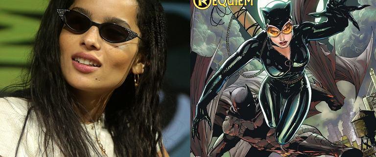 Zoe Kravitz zagra Catwoman. Pogratulował jej dumny ojczym Jason Momoa