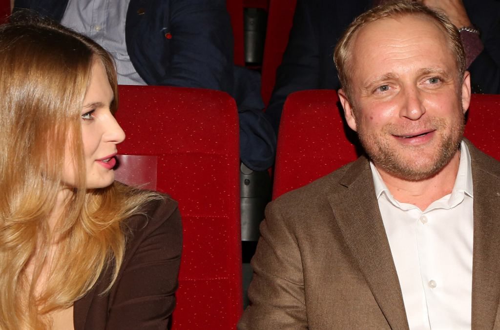 Piotr Adamczyk i Karolina Szymczak