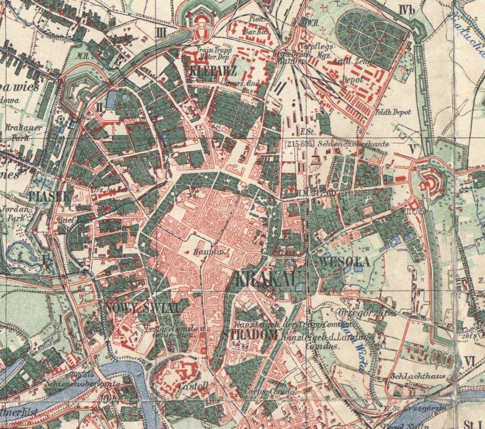 Jak Sie Krakow Zmienial I Rozrastal Stare Mapy Miasta