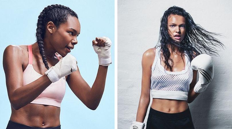Piloxing - dziewczyny trenujące boks