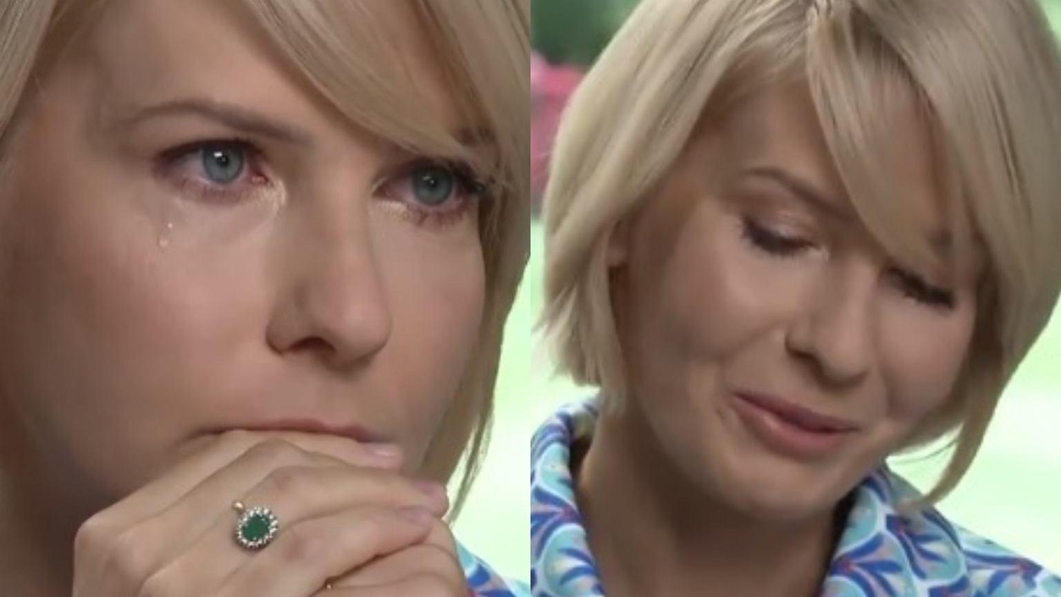 Magda Mołek spytała Edytę Pazurę o początki znajomości z Cezarym. Jej reakcja? Zalała się łzami.