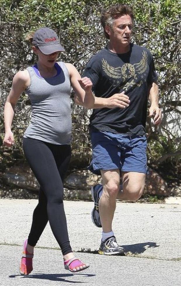 Scarlett Johanssen, Sean Penn