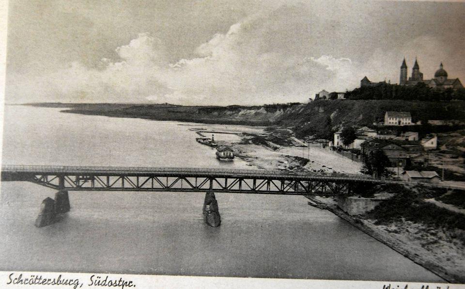 Pierwszy stały most na Wiśle
