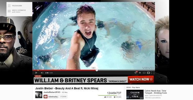 Teledysk Justina Biebera