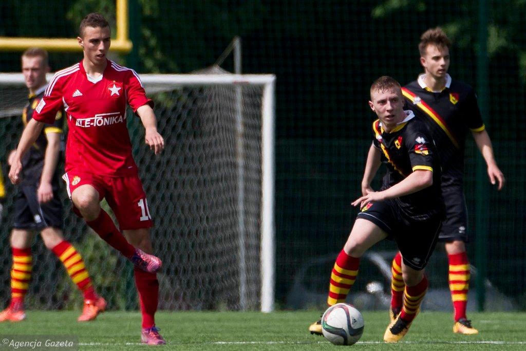 Centralna Liga Juniorów Jagiellonia Białystok - Wisła Kraków