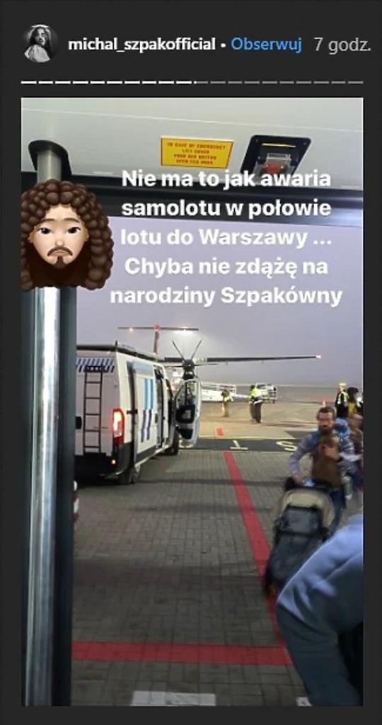 Michał Szpak - droga do szpitala