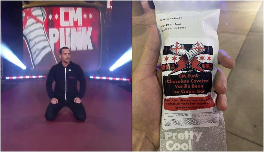 CM Punk rozdał kibicom lody