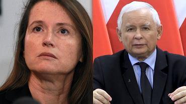 """Monika Jaruzelska komentuje przemówienie Jarosława Kaczyńskiego. """"Ku przestrodze"""""""