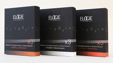 Linia maseczek kolagenowych Elogie Pharmacy