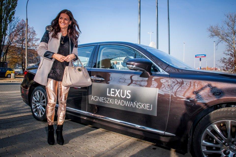 Nowy Lexus GS Agnieszki Radwańskiej