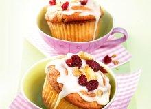Muffiny jabłkowo-żurawinowe - ugotuj