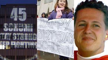 Fani Michaela Schumachera świętują jego 45 urodziny.