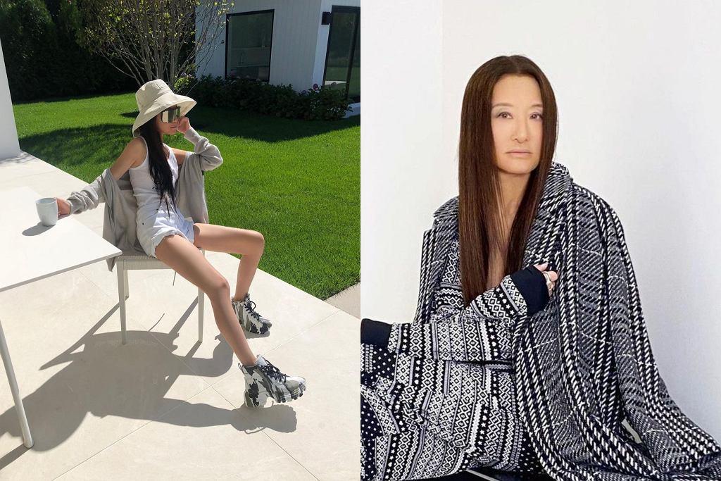 71-letnia Vera Wang pozuje na instagramie