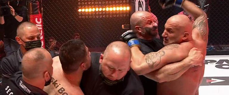 Skandaliczne zachowanie Marcina Najmana na Fame MMA! Został zdyskwalifikowany!