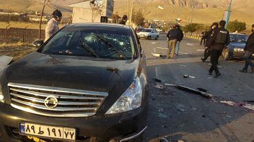 Zamach na irańskiego naukowca