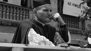 Karol Wojtyła na KUL